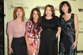 Sharon Lawrence with the board of WIF — ストック写真
