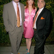 Jenny McShane with Mark Allen and Stephen Gold of Glagla Shoes at Global Green USA's 6th Annual Pre-Oscar Party. Avalon Hollywood, Hollywood, CA. 02-19-09 — Stock Photo