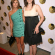 Elizabeth Hendrickson and Eden Riegel - Stock Photo