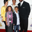Foto Stock: Jimmy Jam and family at Grammy Nominations Concert Live!! NokiTheatre, Los Angeles, CA. 12-03-08
