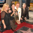 Постер, плакат: Tanya Tucker and Crystal Gayle with Wink Martindale and Leron Gubler
