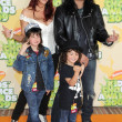 Foto Stock: Slash and Family