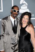 Snoop dogg y fran drescher — Foto de Stock