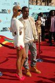 Amber Rose, Kanye West — Stock fotografie
