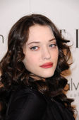 Kat Dennings at the 16th Annual Elle Women in Hollywood Tribute Gala. Four Seasons Hotel, Beverly Hills, CA. 10-19-09 — Stock Photo
