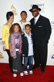 Jimmy Jam and family at The Grammy Nominations Concert Live!! Nokia Theatre, Los Angeles, CA. 12-03-08 — Foto Stock