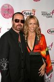 David A. Stewart and Sheryl Crow — Stock Photo