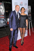 """Stephen Belafonte and Melanie Brown at the AFI Fest Screening of """"Bad Lieutenant: Port Of Call New Orleans,"""" Chinese Theater, Hollywood, CA. 11-04-09 — Stock Photo"""