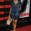 Постер, плакат: Aisha Tyler at the Los Angeles Premiere of Max Payne Graumans Chinese Theatre Hollywood CA 10 13 08