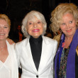Dee Wallace Stone with Carol Channing and Sally Kirkland — Stock Photo #15233011