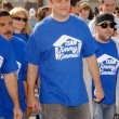 Jimmy Kimmel at the 'American Dream 5k Walk' Benefitting Habitat for Humanity. Pacoima Plaza, Pacoima, CA. 10-10-09 — Stock Photo