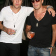 Ryan Cabrera and Gianni Capaldi — Stock Photo