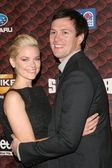 Jaime King and Kyle Newman — Stock Photo