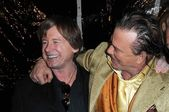Roddy Piper and Mickey Rourke — Stock Photo