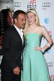 Stephen Dorff, Elle Fanning — Stock Photo