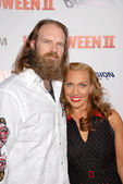 Tyler Mane and Renae Geerlings — Stock Photo