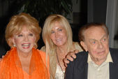 Ruta Lee with Joan Van Ark and Jack Carter — Stock Photo