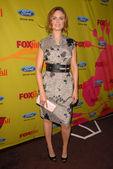 Emily Deschanel at the Fox Fall Eco-Casino Party. BOA Steakhouse, West Hollywood, CA. 09-14-09 — Stockfoto