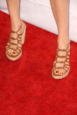 Sonya Walger's shoes — Stock Photo
