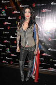Kat Von D at the Opening Night of The Darling Stilettos at Cinespace. Cinespace, Hollywood, CA. 07-16-09 — Stock Photo