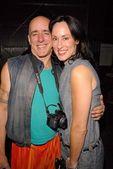 John X Volaitis and Jana Houston — Stock Photo