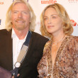 Постер, плакат: Richard Branson and Sharon Stone