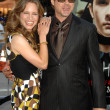 Susan Downey and Robert Downey Jr — Stock Photo