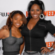 Shar Jackson and daughter Cassie — Stock Photo