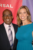 Al Roker, Stephanie Abrams — Stock Photo