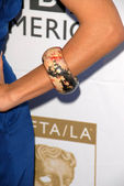 Jessalyn Gilsig's jewelry at the 7th Annual BAFTA-LA TV Tea Party. Intercontinental Hotel, Century City, CA. 09-19-09 — Stock Photo