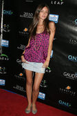 Caroline D'Amore at the Reality Cares Leap Foundation Benefit. Sunstyle Tanning Studio, West Hollywood, CA. 08-06-09 — 图库照片