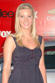 Heather elizabeth morris på glee säsongen premiär festen. willows skola, culver city, ca. 09-08-09 — Stockfoto