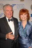 Robert Wagner and Jill St. John — Stock Photo
