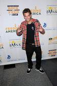 亚当塔基在岩石有点,喂了很多的义演音乐会。俱乐部诺基亚,洛杉矶,ca.09/9/29 — 图库照片