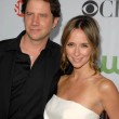 Постер, плакат: Jamie Kennedy and Jennifer Love Hewitt at the CBS CW and Showtime All Star Party Huntington Library Pasadena CA 08 03 09
