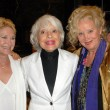 Dee Wallace Stone with Carol Channing and Sally Kirkland — Stock Photo #15255167