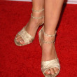 Stock Photo: Aimee Garcias shoes at NBC Universal 2009 All Star Party. Langham Huntington Hotel, Pasadena, CA. 08-05-09