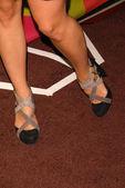 оливия уайльд обувь — Стоковое фото
