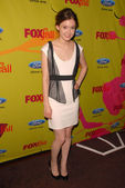 Hayley McFarland at the Fox Fall Eco-Casino Party. BOA Steakhouse, West Hollywood, CA. 09-14-09 — Stock Photo