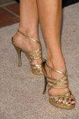Laura Leighton's shoes — Stock Photo