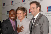 Taye Diggs with Chris Lowell and Paul Adelstein — Stock Photo