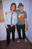 Tony young e ramzi abed — Fotografia Stock
