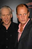 Bill Maher, Woody Harrelson — Stock Photo