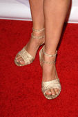 Aimee Garcias shoes at the NBC Universal 2009 All Star Party. Langham Huntington Hotel, Pasadena, CA. 08-05-09 — Stock Photo