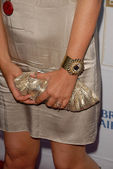 Lucy Davis's purse — Stock Photo