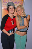 Katherine Carlson and Tonya Kay at the dual screenings of Kelly Deerdale, Naturist and Orgies, Laemmle Grand Theaters, Los Angeles, CA 08-28-09 — Foto Stock