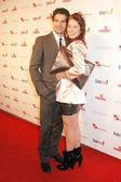 Lynn Collins and Steven Strait — Stock Photo
