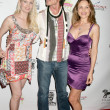 Allie Moss, Ronn Moss, Brittan Taylor — Stock Photo