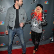 Adam Levine, Christina Aguilera  at The Voice Season 3 Red Carpet, House of Blues, West Hollywood, CA 11-08-12 - Zdjęcie stockowe