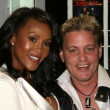 Vivica A. Fox and Corey Haim at the Los Angeles Premiere of 'Shark City'. Regent Cinema, Hollywood, CA. 03-19-09 — Stock Photo